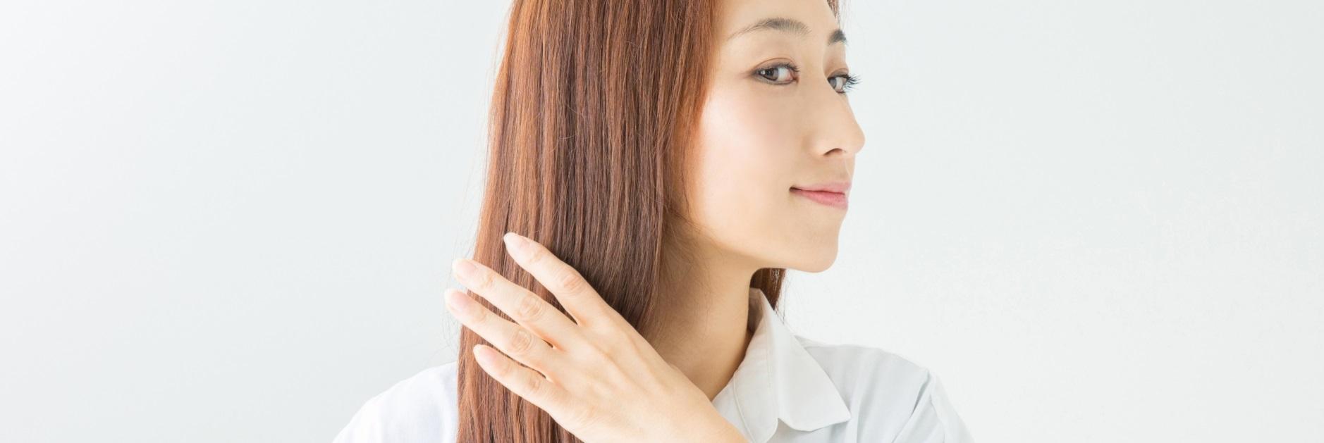美しい髪と頭皮の関係